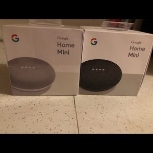 google Other - Two brand new google home minis